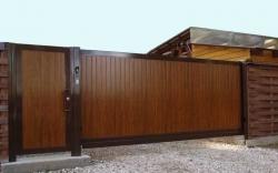 Алюминиевые откатные ворота AVS SL